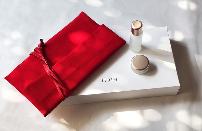 「ITRIM」のエレメンタリー ホリデーキット フラットポーチを制作しました