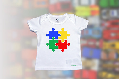 """T-Shirt """"Puzzle of Life"""" Babys"""