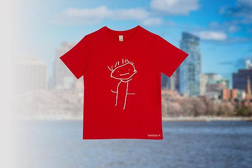 """Kinder T-Shirt """"Ich"""""""