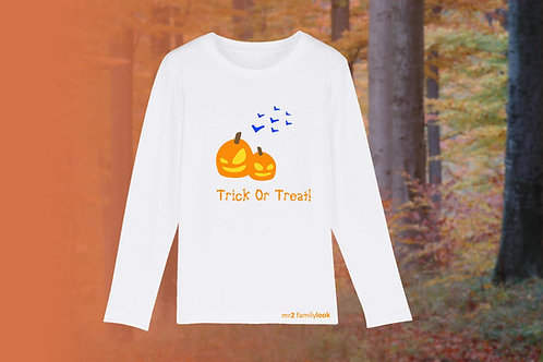 """Longshirt """"Halloween"""" Buben"""