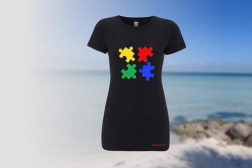"T-Shirt ""Puzzle of Life"" Damen"