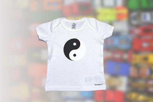 "T-Shirt ""Yin und Yang"" Babys"