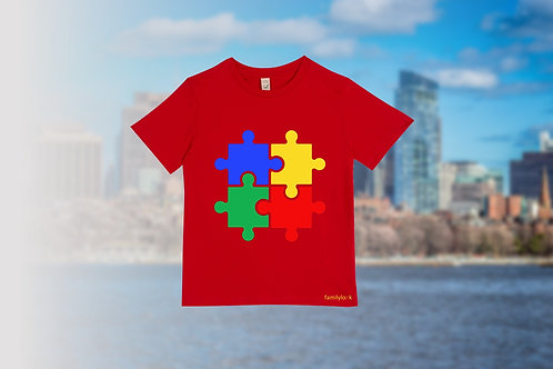 "T-Shirt ""Puzzle of Life"" Kinder"