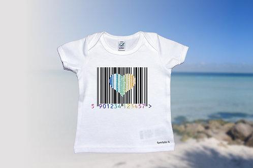 """T-Shirt """"LoveCode"""" Baby"""