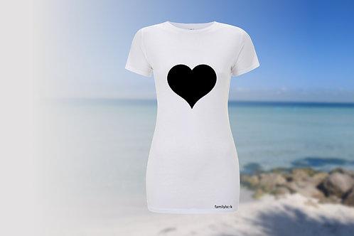 """T-Shirt """"Herz und Pfeil"""" Damen"""