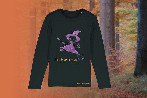 """Longshirt """"Halloween""""Mädchen"""