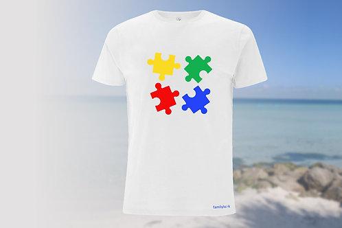 """T-Shirt """"Puzzle of Life"""" Herren"""