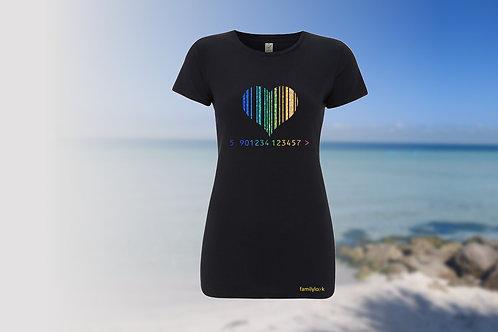 "T-Shirt ""LoveCode"" Damen"