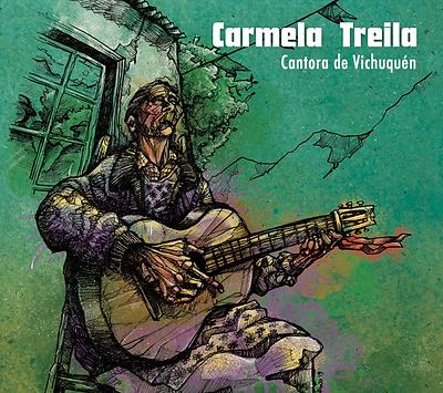 Cantora canto campesino Chile