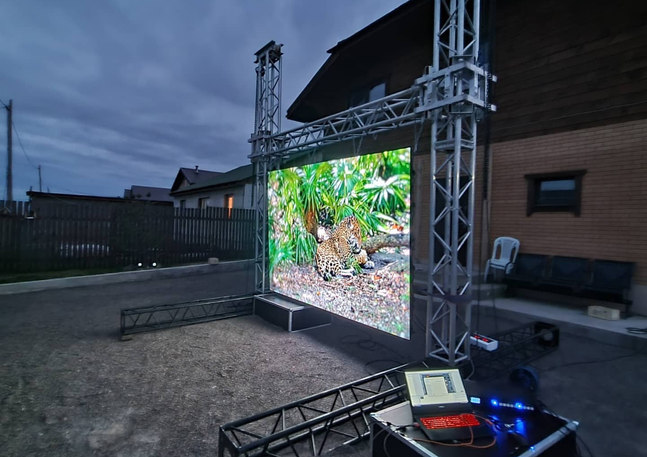 Прокат светодиодного экрана