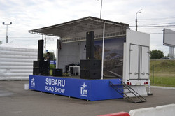 Звук и Сервис на Subaru Road Show