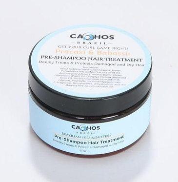 Cachos Brazil Pre-Shampoo Hair Treatment for Strengthening & Restoring 118ml
