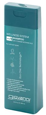 Giovanni Wellness System Shampoo with Chinese Botanicals 250ml