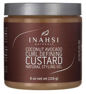 Inahsi Naturals Coconut Avocado Curl Defining Custard 8oz/226g