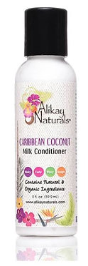Travel Size Alikay Naturals Caribbean Coconut Milk Conditioner 59ml