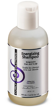 Travel Size Curly Hair Solutions Energizing Shampoo 100ml