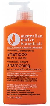 Australian Native Botanicals Volumising Shampoo for Limp/Fine or Oily Hair