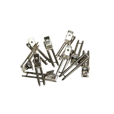 Double Prong Curl Clips 40 pack