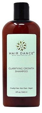 Hair Dance Clarifying Growth Shampoo 240ml (Green Tea, Peppermint & ACV No Poo)