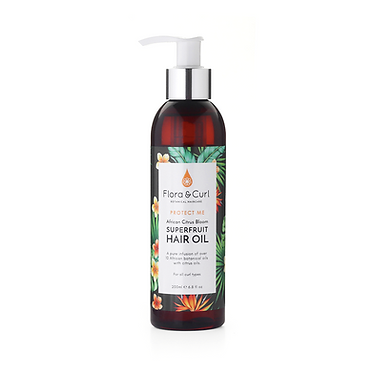 Flora & Curl African Citrus Superfruit Hair Oil (200ml)