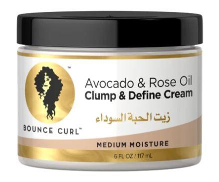 Bounce Curl Avocado & Rose Oil Clump and Define Cream 117ml (Max 2 per order)