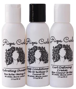 Rizos Curls Rizos Reina Trio Travel Kit