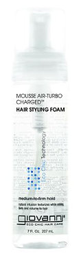 Giovanni Mousse Air Turbo Charged Hair Styling Foam 207ml