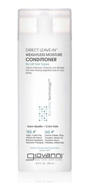 Giovanni Direct Leave In Weightless Moisture Conditioner 250ml