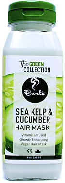 Curls Green Sea Kelp & Cucumber Hair Mask 236ml