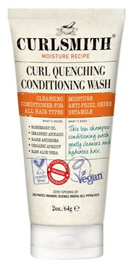 Travel Size Curlsmith Curl Quenching Conditioning Wash 64gm