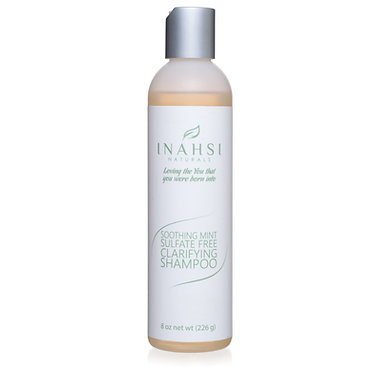 Inahsi Naturals Soothing Mint Sulfate Free Clarifying Shampoo 8oz/226gm
