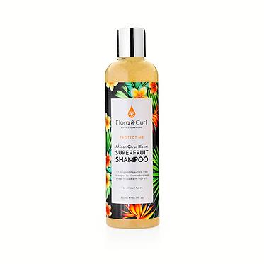 Flora & Curl African Citrus Superfruit Shampoo (300ml)