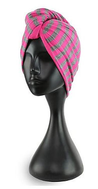 Puff Cuff Double Sided T-Shirt Turban (Colours Vary)