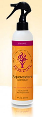 Jessicurl Aquavescent Hair Spray 8oz