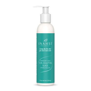 Inahsi Naturals Curl Sculpting Glaze Strong Hold Gel 8oz/226g