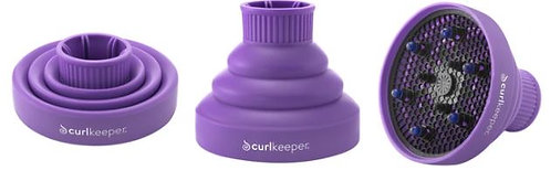 Curl Keeper Pop Up Silicone Diffuser (Purple)