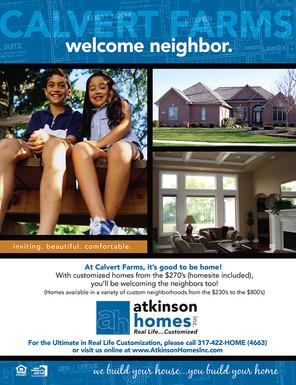 Atkinson Homes - Calvert Farms Neighborhood Sheet
