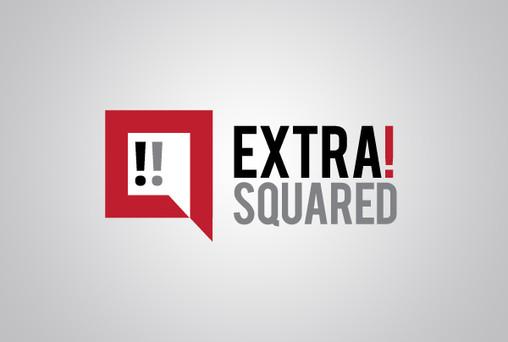 Extra!Squared Logo