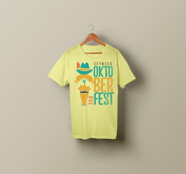 2018 Seymour Oktoberfest T-Shirt Design