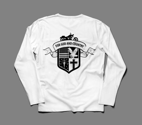 American Legion Riders - T-Shirt Back