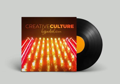 Creative Cutlure - Hyperbolic Album Art