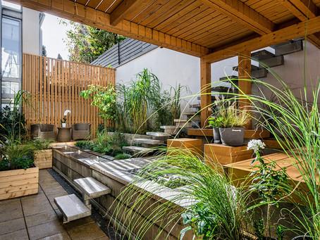 Incorporating nature in design.