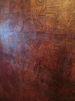 Cuir mural