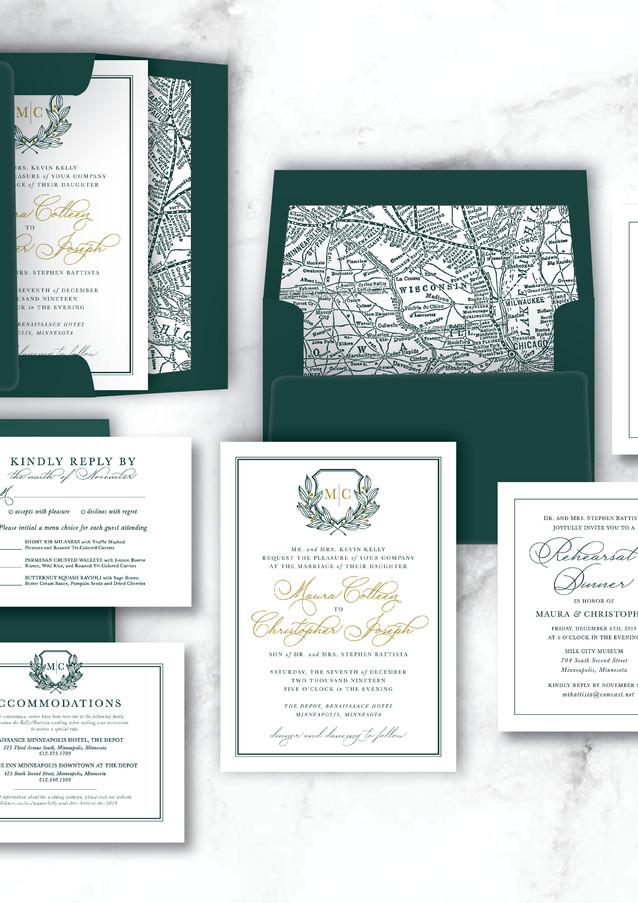 Wedding | Custom Invitation Suite