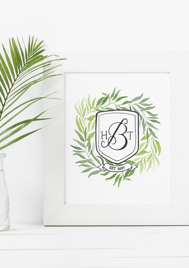 Wedding | Custom Monogram