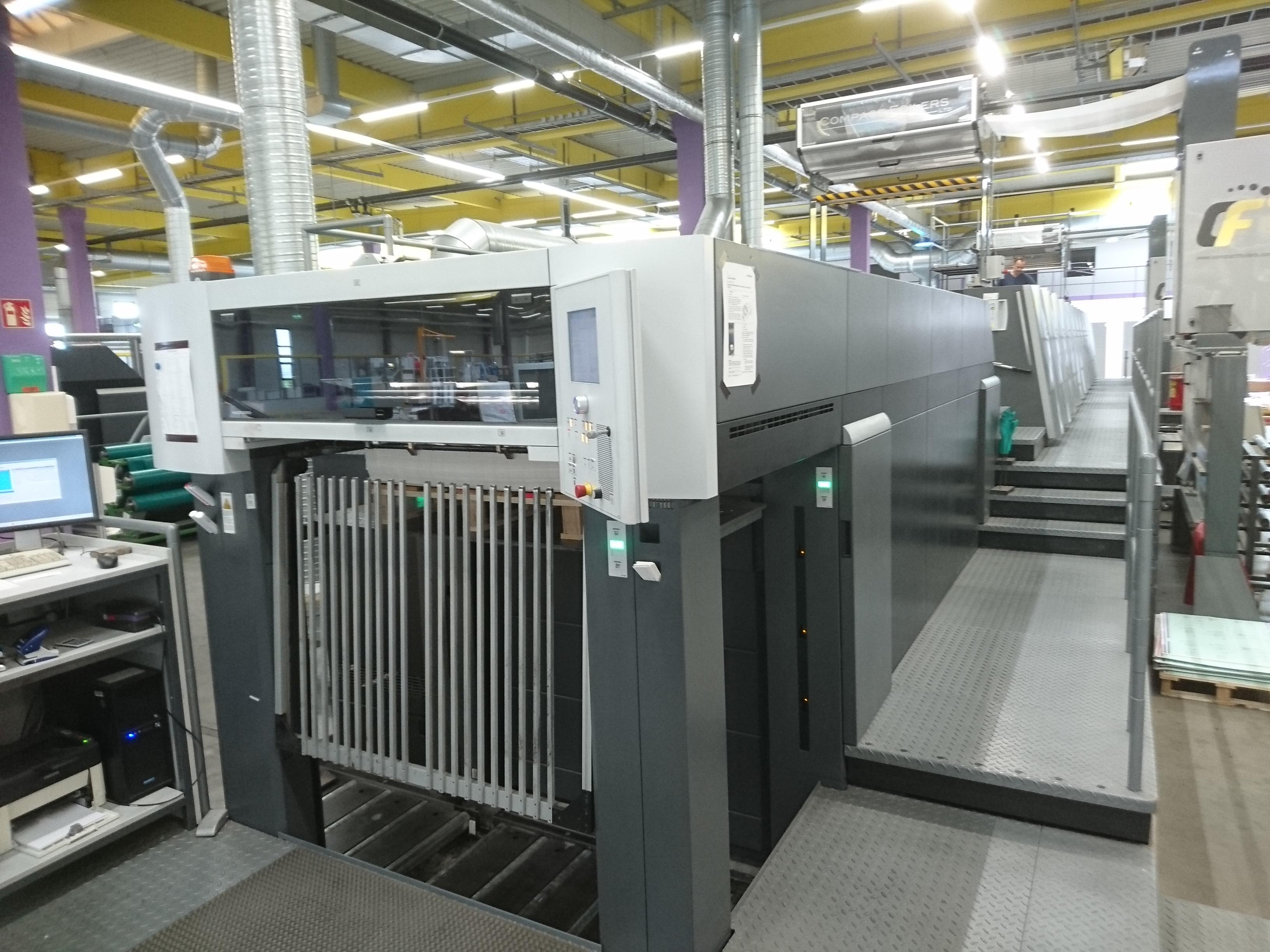 Druckmaschinen reinigen