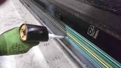 Saubere Stromschienen