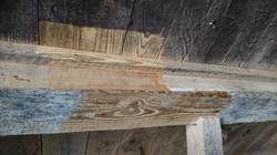 Naturholz sichtbar machen