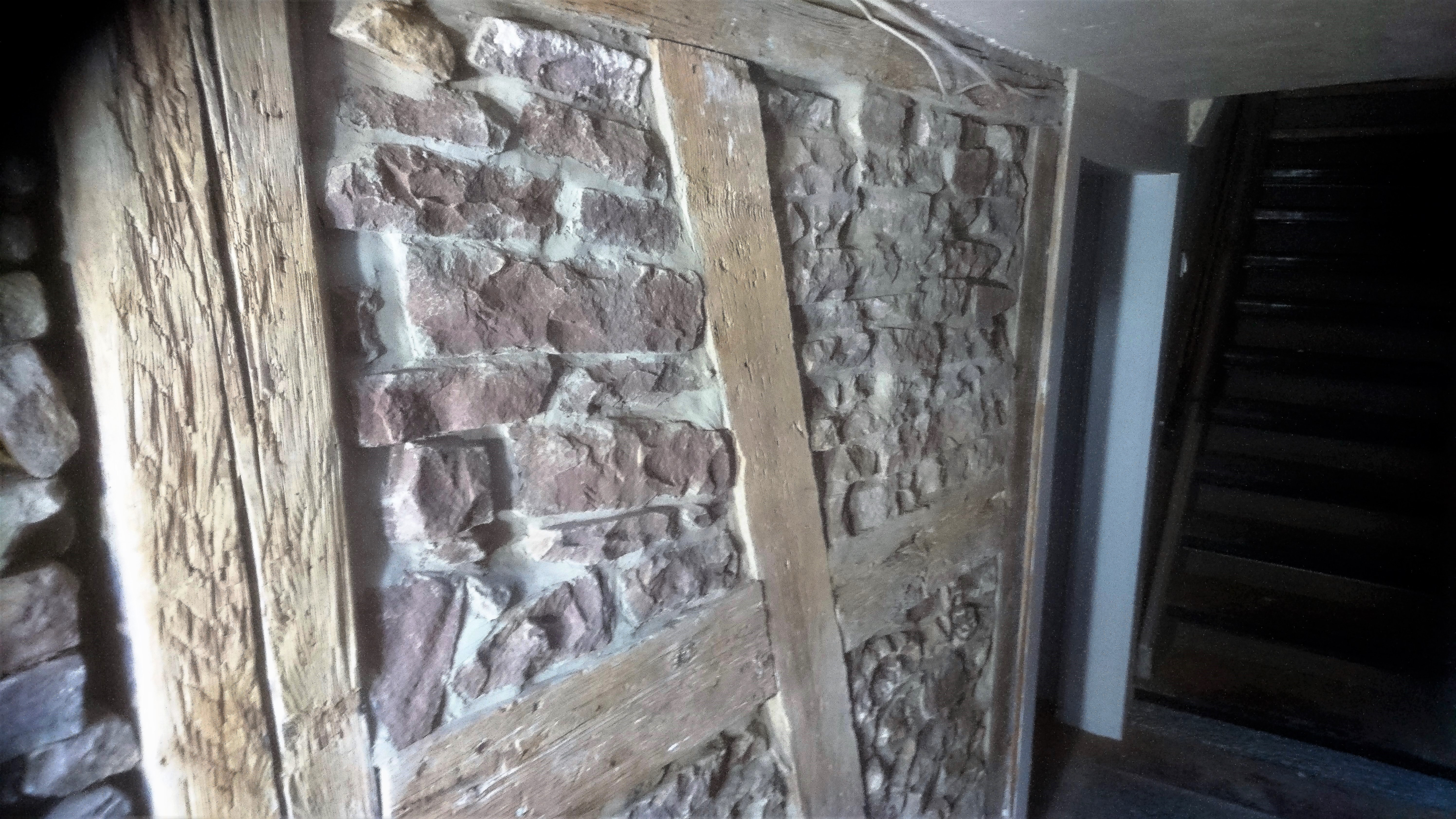 Ursprüngliche Steinwand