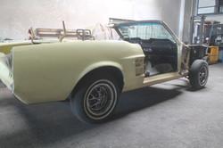 Mustang Karroserie entlacken
